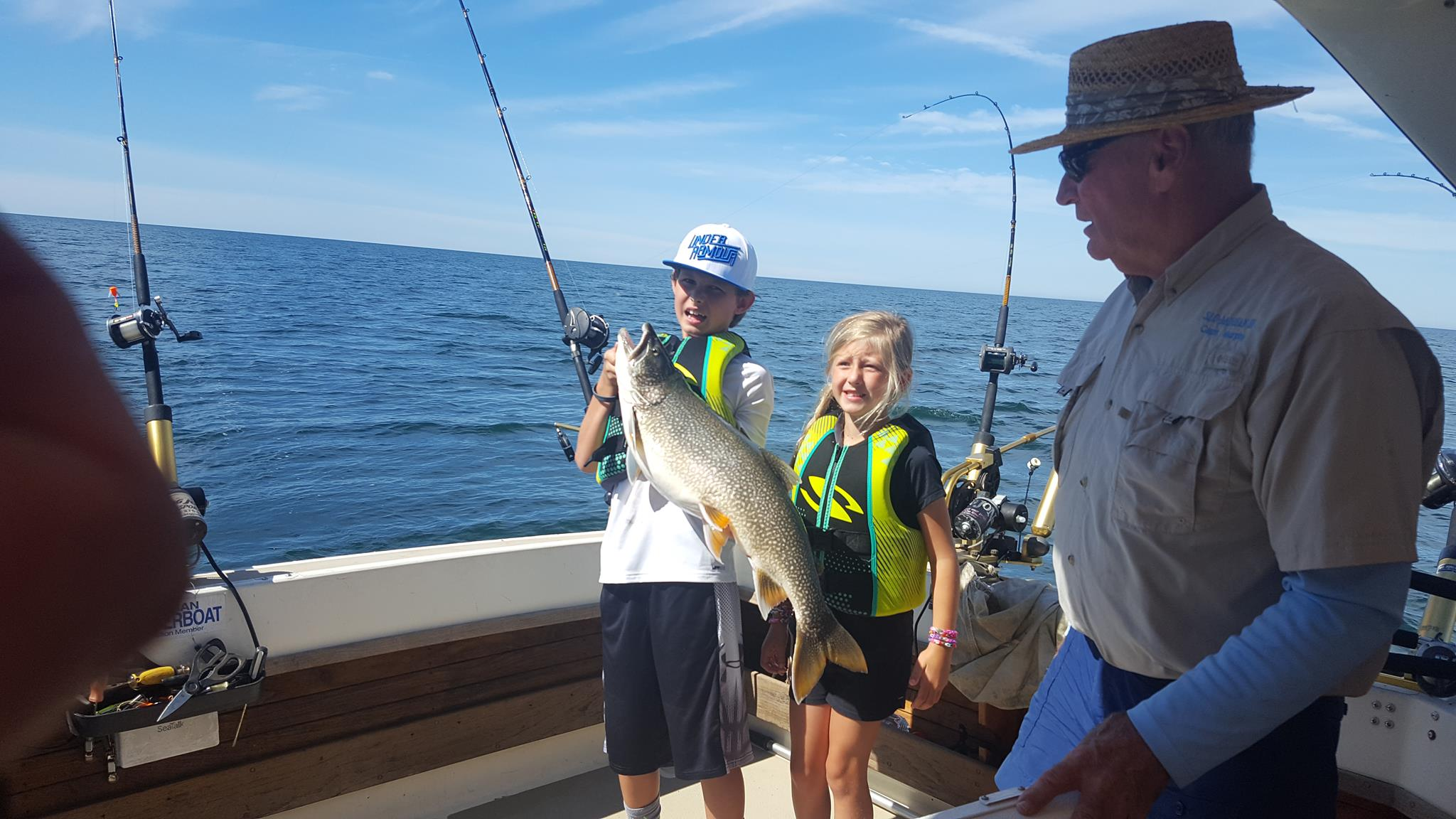Andersen Charters – Frankfort Michigan -Fishing the waters